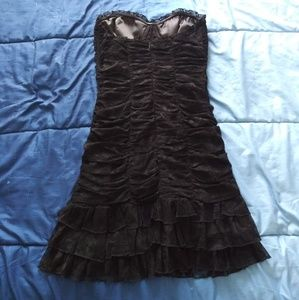 bebe Dresses - Sexy fitted Bebe dress size Medium